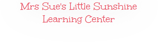 Mrs Sue's Little Sunshine